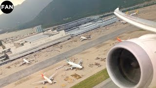 Air India 787-8 Engine View Taxi and Takeoff from Hong Kong International Airport!