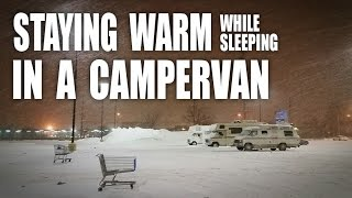 GGC - 47 - Top 5 Tips For A Warm Sleep In A Van During A Canadian Winter