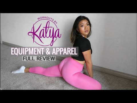 WORKOUTS BY KATYA EQUIPMENT & APPAREL FULL REVIEW