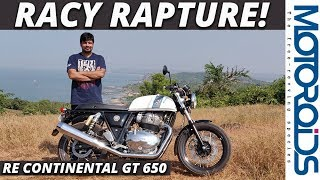 Royal Enfield Continental GT 650 Review   The Racier Twin   Motoroids
