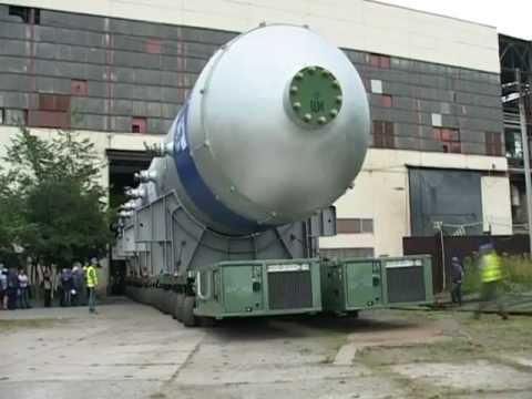 Тяжеловес Перевозка Реактора 1300 тонн