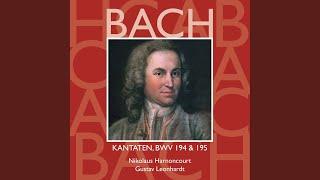 Cantata No 194 Höchsterwünschtes Freudenfest BWV194 XII Chorale Sprich Ja Zu Meinen