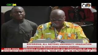 Akufo-Addo: Government to enrol more science students