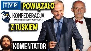 SZOK: TVP Powiązało Konfederację z Donaldem Tuskiem - W tle Wybory 2019  Analiza Komentator Polityka