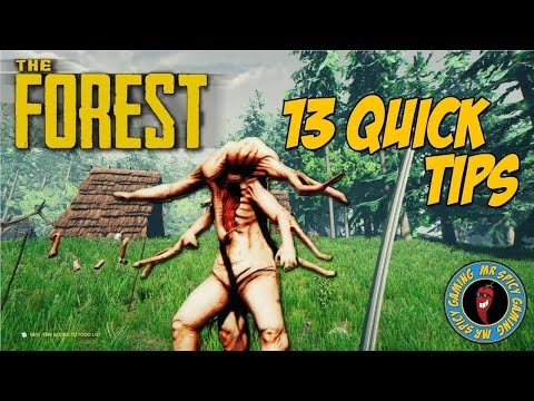 13 QUICK TIPS FOR THE FOREST - The Forest Tips & Tricks