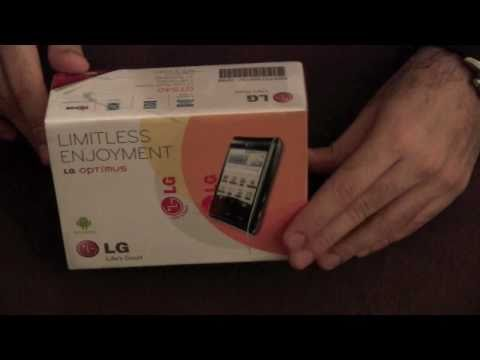 LG OPTIMUS GT 540 UNBOXING - iGyaan.in