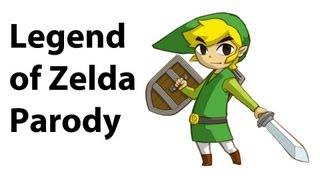 The Legend of Zelda Parody (Get Item)