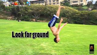 How to do a back whip flip- backflip tutorial gymnastics lesson