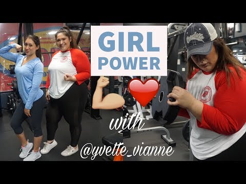 WORKING OUT with Yvette Vianne (IFBB PRO)