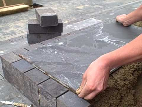 Slate For A Patio Youtube