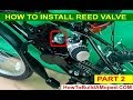 Gambar cover How To Install Reed Valve 40mm How To Build a Motorized Bike Part 23