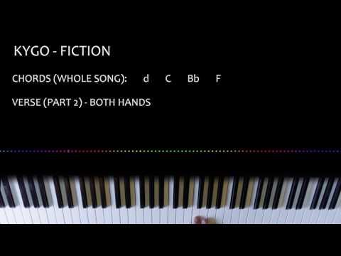 Kygo - Fiction (Piano Tutorial)