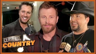 On the Road With Dierks Bentley, Luke Bryan and Jason Aldean | Certified Country