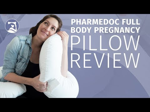 PharMeDoc Full Body Pregnancy Pillow Review - The Only Pillow You'll Need?