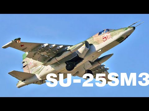 Russia's modified Su-25SM3 'flying tank' to join army's rank