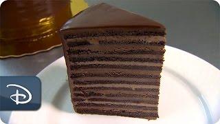 Disneyland Hotel's 24-layer Cake At Steakhouse 55 | Disneyland Resort