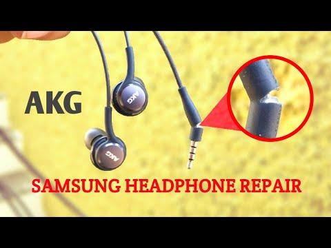#AKG #Repair #Samsung How to repair a broken headphone with Microphone on