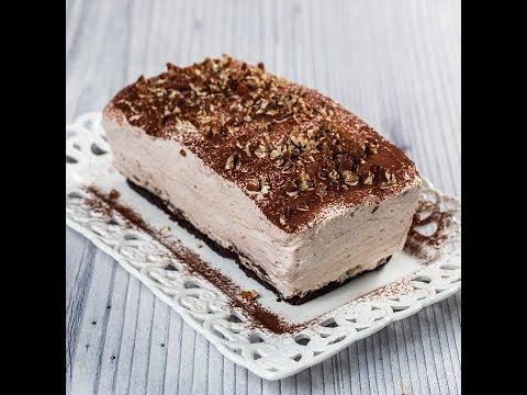 Prăjitură cu cremă de frișcă și cacao