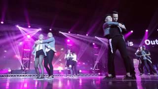 Taneční skupina roku 2014 - Out of bounds / New king of pop  FRONTROW
