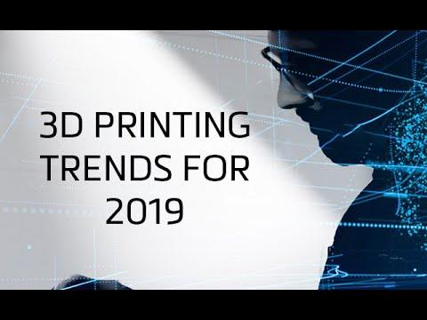 .2019 年 3D 列印行業發展十大趨勢預測