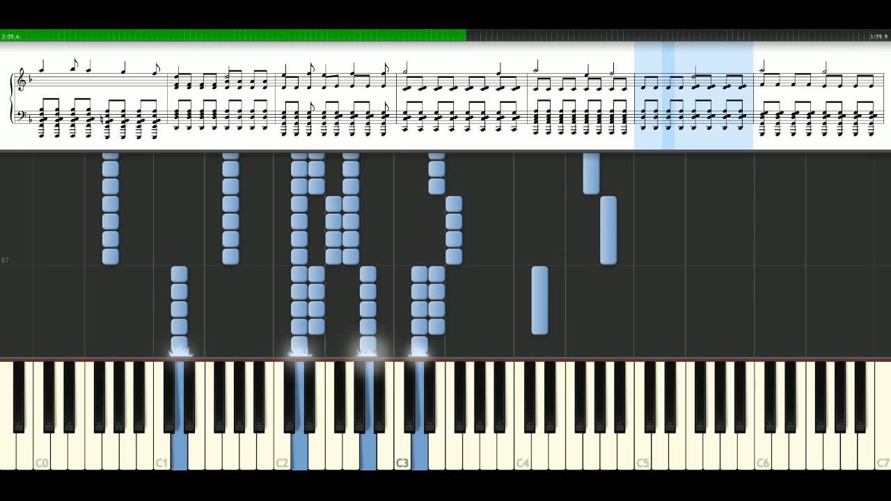 My chemical romance this is how i disappear piano tutorial my chemical romance this is how i disappear piano tutorial synthesia hexwebz Choice Image