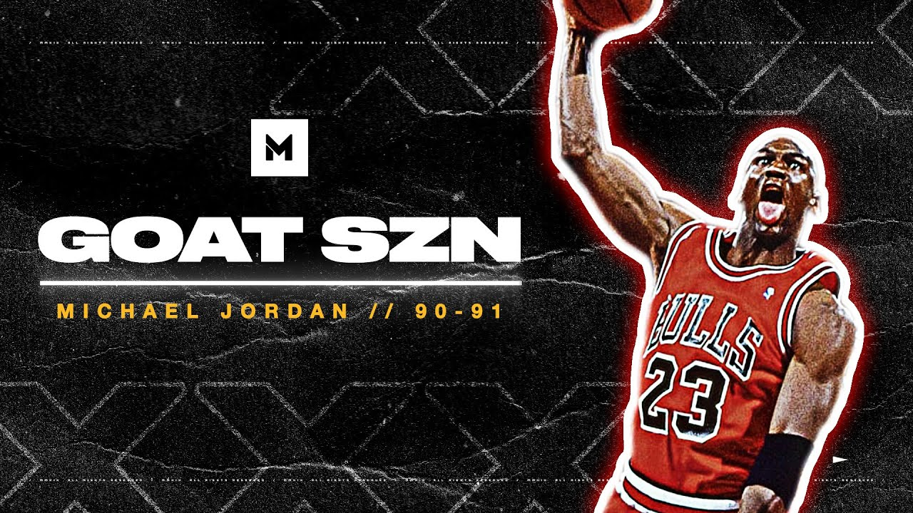 Michael Jordan 90-91 Season Highlights