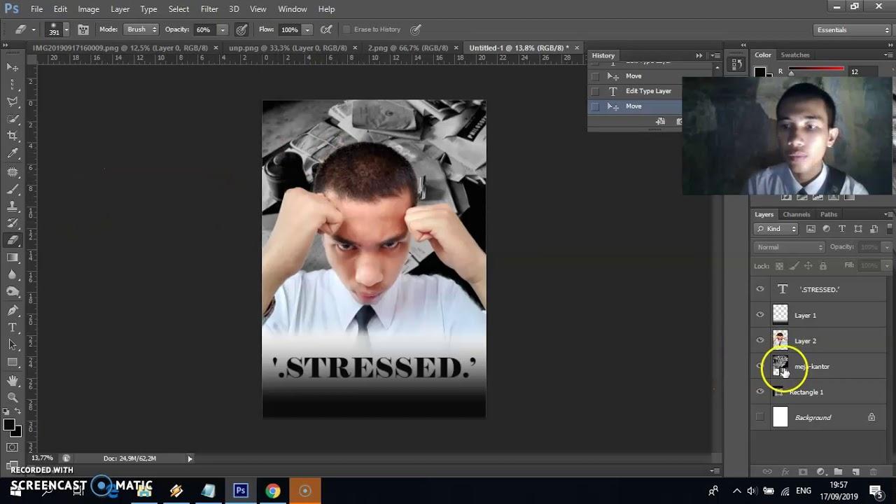Tutorial Cara Membuat Poster Film Movie Dengan Photoshop Cs6