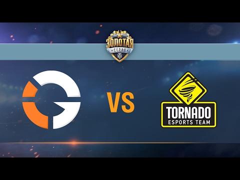 Tornado Energy vs IMPACT Gaming - day 2 week 6 Season II Gold Series WGL RU 2016/17