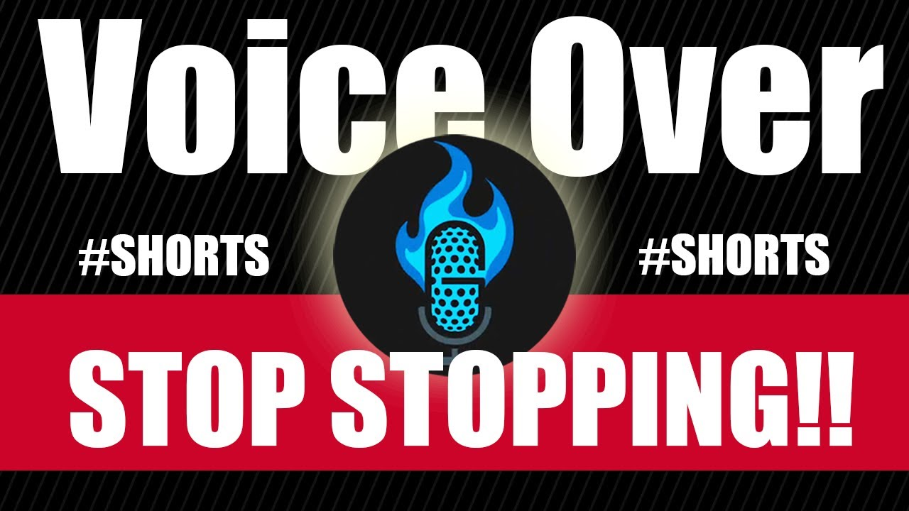 Voice Actor HOT TIP! --Stop Stopping!!-- #shorts