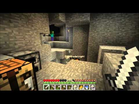 Minecraft Let's Play : EP 2 Mining is Dangerous