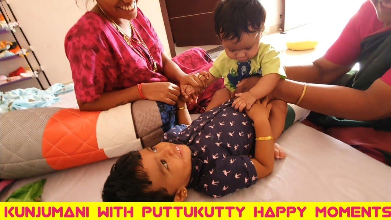 kunjumani attrocities with baby brother puttu