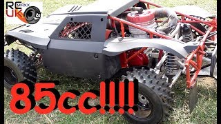 ALX 85cc MONSTER outlaw hybrid!! WOW!!