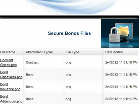 Bonds Software | Lien Software | Surety & Performance Bonds