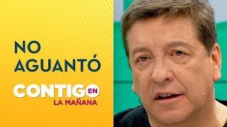 Julio César Rodríguez se emocionó con conmovedor relato - Contigo en La Mañana