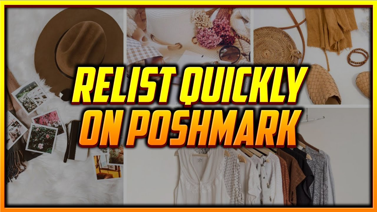 How to Relist Stale Items on Poshmark Using the New Copy Listing Feature