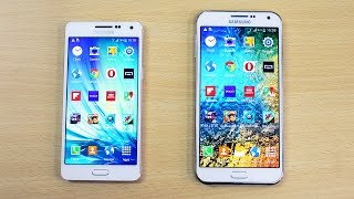 Samsung Galaxy A5 vs Galaxy E7 Speed Test!