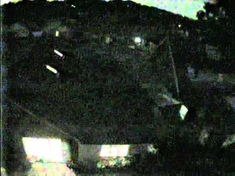 Tri-Rotor UAV - night test flight