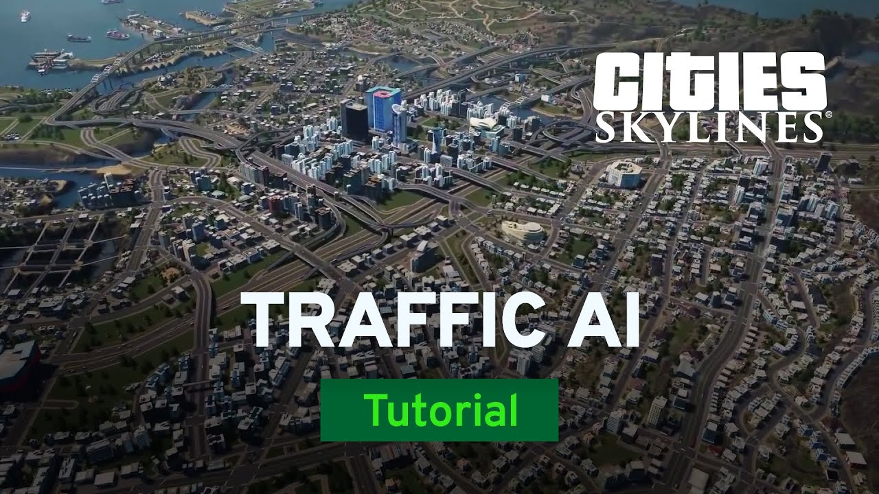Beating The Traffic Ai With Czardus Tutorial Cities Skylines Youtube