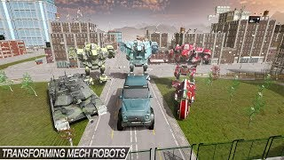 Mech Robot Transform Game – Endless Robot Wars (By Cradley Creations) Android Gameplay HD