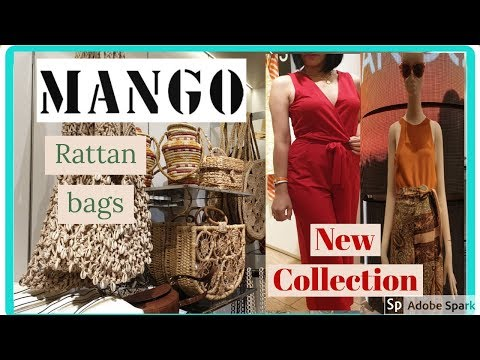MANGO Spring Summer Collection | Rattan bag | What's New May 2019