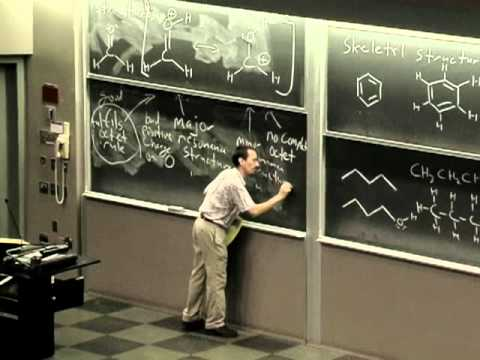 Organic Chemistry 51A. Lecture 03. Resonance Structures, Skeletal Structures, Bond Length.