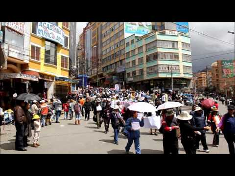 La Paz, Bolivia / City video/ 04.2012/ HD