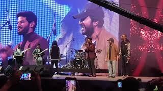Vineeth Sreenivasan And Dulquer Rocked The Stage Pravasolsavam 2019 Dubai Dq Vineethsreenivasan