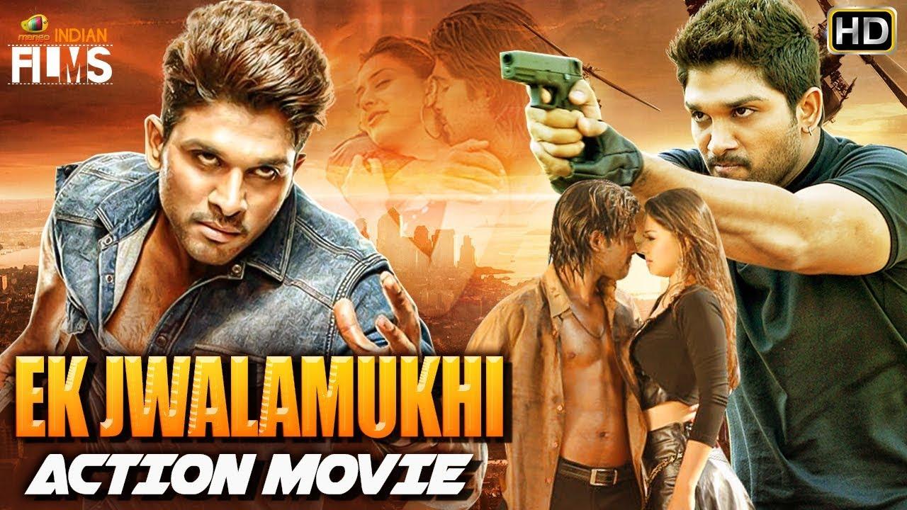 Download Allu Arjun Ek Jwalamukhi Hindi Dubbed Action Movie | Allu Arjun Dhamaka Action Movie | Indian Films