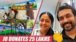 சொன்னதை செய்த Jyothika | பாராட்டிய அமைச்சர் | Surya | Thanjore Hospital