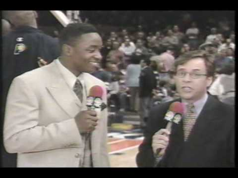 Indiana Pacers VS Ny Knicks (Game 3 1998 NBA playoffs ) Part 1 of 12