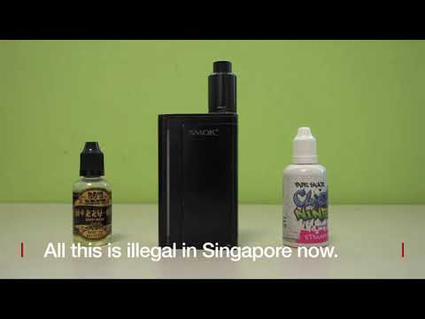 Singapore vaping ban: My last legal puff