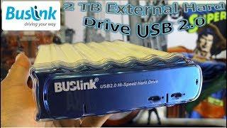 Buslink 2 TB External Hard Drive USB 2.0