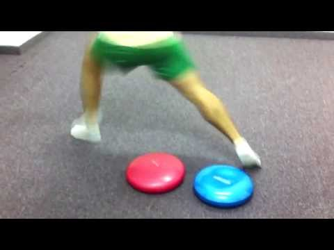 Wertheim Academy balance and foot work  for football in OCO system
