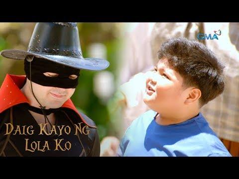 Daig Kayo Ng Lola Ko: Zorro's biggest fan